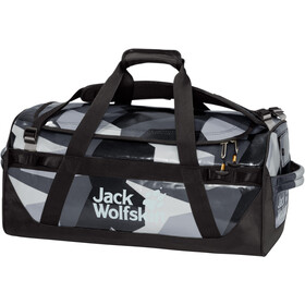 Jack Wolfskin Expedition Trunk 40 Duffle Bag, grey geo block